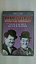 Laurel and Hardy Berth Marks  DVD  New and Sealed