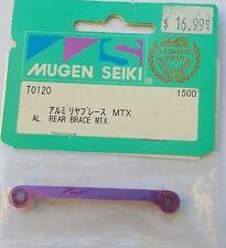 Mugen Seiki T0120 Aluminum Rear Brace for MTX, MUGT0120 NEW