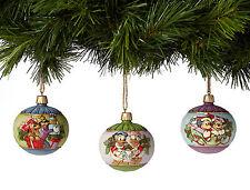 Enesco Jim Shore Disney Traditions Ball Ornaments NIB  4039087