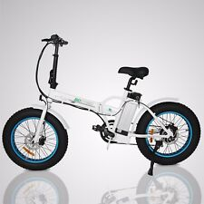 FOLDING Fat Tire E-Bike 500W 20
