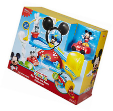 Fisher-Price Disney Junior Mickey Mouse Clubhouse Zip, Slide and Zoom Clubhouse