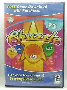 Chuzzle Windows PC Game DVD (a16) Pop Cap