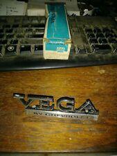 Nos 1973-1977 Vega header/rear body panel nameplate 1700895