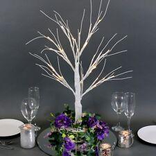 LED Light Up Manzanita White Tree 65cm Wedding Centepiece Event Home Decor EF