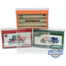 5 x Protector Box for Nintendo Game & Watch Multi Screen Plastic Display Cases