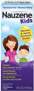 Nauzene Kids 4fl oz Natural Grape Flavored Nausea & Upset Stomach Relief Exp8/21