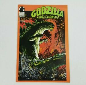 Godzilla King Of The Monsters August 1987 Comic Book Magazine Dark Horse Special