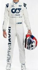 Alpha Tauri racing suit cik fia level 2 suit digital Printed