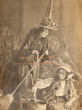 Vintage Halloween Photograph Witches Brew Early 1900s Antique Witch RePrint