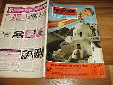 PERRY RHODAN  # 465 -- STECKBRIEF MARCO POLO / 1. Auflage 1970 mit Rißzeichnung