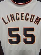 Tim Lincecum San Francisco Giants Majestic #55 Baseball Jersey Size XX-L MLB