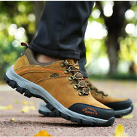 Men's Hiking Safety Shoes Shock Absorbing Sneakers Non-Slip Anti-Smash Outdoor