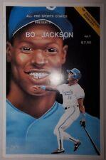 All-Pro Sports Comics Present Bo Jackson #1b Burke 10K print run Sep 1991 (VF)