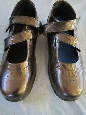 Drew shoe Mary Jane flats in metalic copper size 10W