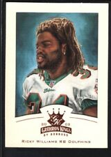 RICKY WILLIAMS 2002 DONRUSS GRIDIRON KINGS #48 BRONZE DOLPHINS SP