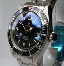 TRIDENT VOYAGER 12 6 9 Military Submariner.  Styled from the 1956 Rolex 6538