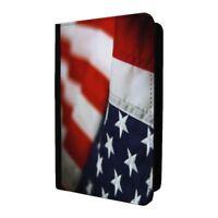 imprimé drapeau américain motif Porte-Passeport étui housse - P1228