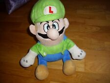 "Nintendo Super Mario Luigi soft plush toy 12"" in height"