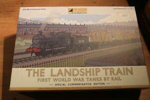 Graham Farish Landship Train pack N gauge WW1 limited edition - BRAND NEW