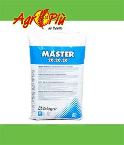 MASTER 20-20-20 concime idrosolubile fertirrigazione Kg. 10