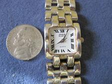 #73 ladys sterling silver ANNE KLEIN watch bracelet