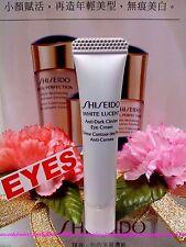 """Shiseido White Lucent☾""""Anti-Dark Circles"""" Eye Cream☽◆(5ml/0.17oz)◆ """" FREE POST """""""