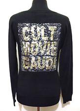 GAUDI' Cardigan Maglia Donna Viscosa Paiette Rayon Woman Sweater Sz.S - 40