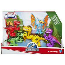 Playskool Heroes Jurassic World Dinosaurs 5 Figure DINO RUMBLE PACK (B8409)