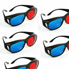 3D Brille für Kino und Film sportliches Design rot blau cyan Anaglyph Liefe W0Q8