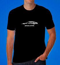Alfa Romeo alfetta GTV GTV6 retro inspired T shirt gift dad classic car