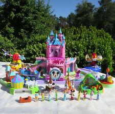 Mini Polly Pocket DISNEYLAND Magic KINGDOM Schloss Musik 2 Erweiterungen