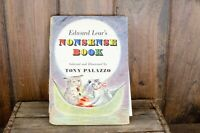Edward Lear's Nonsense Book TONY PALAZZO illus hc 1956