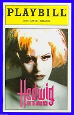 Playbill + Hedwig and the Angry Inch + RARE + Ally Sheedy , Maggie Moore