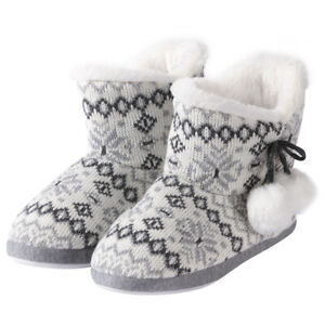 Women's Slip-on Boots Ankle Boots Boots Boots Winter Indoor House Boots Shoes