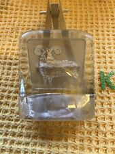 More details for nybro aries ram zodiac horoscope glass paperweight paul isling sweden