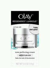 Olay Regenerist Luminous Tone Perfecting Cream 0.5 oz Box issues