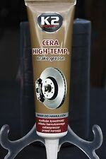 K2 BRAKE GREASE  CERA High TEMPERATURE 100ml REDUCES VIBRATION BRAKE Squeals