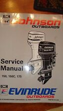 Johnson / Evinrude Outboard service manual copyright 1992