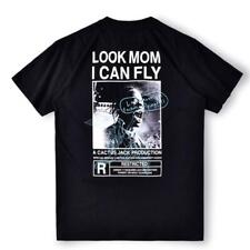 Travis Scott Look Mom I Can Fly Astroworld TV Art Print Poster Wall Home Decor