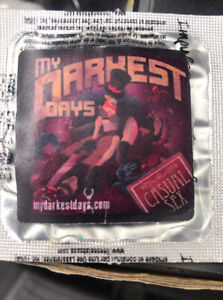 My Darkest Days Casual Sex Promotional Condom