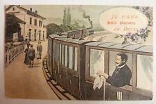 58 / CPA Je Pars.Mille Baisers de  Decize 1910  Homme  Réf E /06