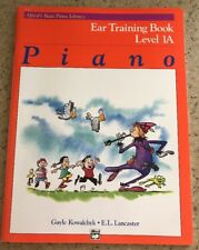 Alfred's Basic Piano Library Ear Training Book 1A 3112