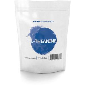 FS L Theanin Pulver | 100g L-Theanin für Schlaf, Gedächtnis, Stress, Entspannung