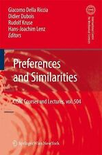 NEW Preferences and Similarities by Hardcover Book (English)