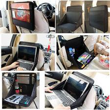 Travel Car Laptop Holder Tray Bag Mount Back Seat Auto Food Work Table Organizer