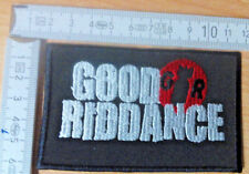 D.R.I. RARE WOVEN PATCH RISE AGAINST PENNYWISE GORILLA BISCUITS GOOD RIDDANCE