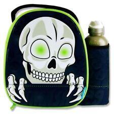 Smash Junior Premium School Lunch Box & Drinks Bottle - Skull Face