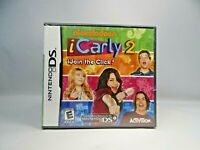 iCarly 2: iJoin the Click (Nintendo DS, 2010)   New Sealed !