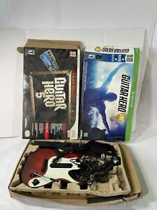 Lot of 3 Guitar Hero Guitars for Xbox / Wii / PS
