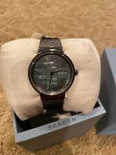 Annelie Two-Hand Gray Steel-Mesh Watch SKW2832 NWT NEW Skagen